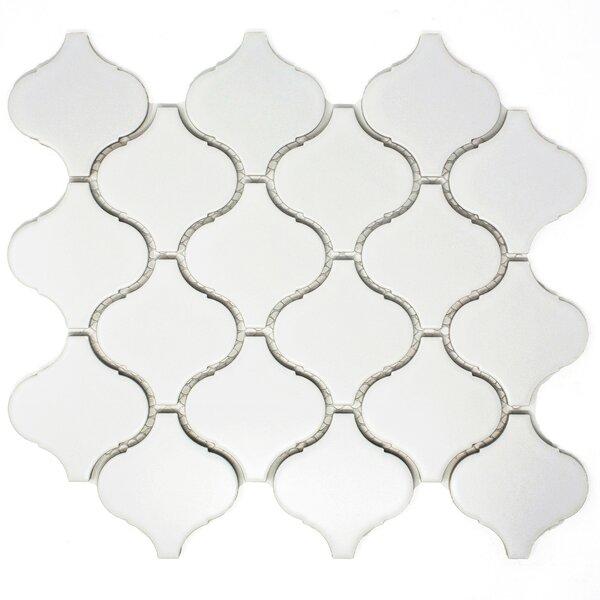 Lantern 3 x 3 Porcelain Tile in White by Multile