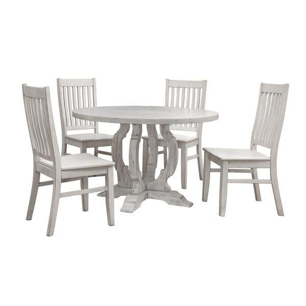 Caigan 5 Piece Dining Set by Ophelia & Co.