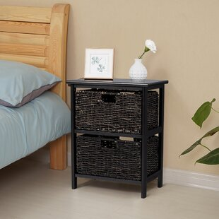 Macek Wood End Table with Storage by Winston Porter