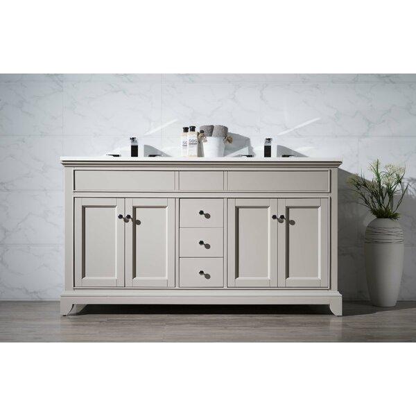 Leola 59 Double Bathroom Vanity Set by dCOR design