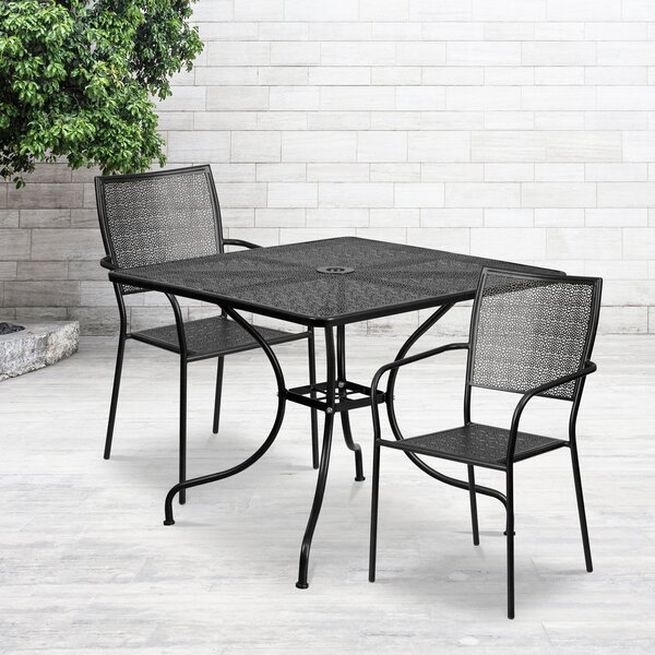 Janeth 3 Piece Dining Set by Zipcode Design