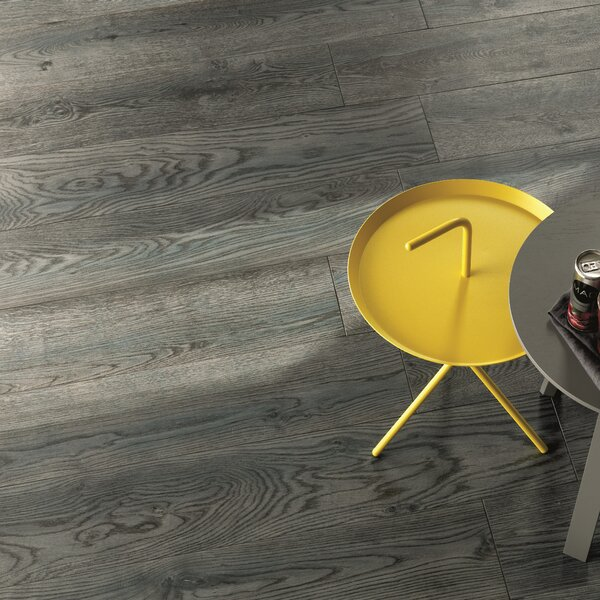 Bio Plank 48 x 8 Porcelain Tile in Cottage Blue by Lea Ceramiche