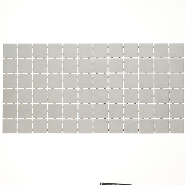 Fairfield 12 x 24 Ceramic Mosaic Tile in White by Itona Tile