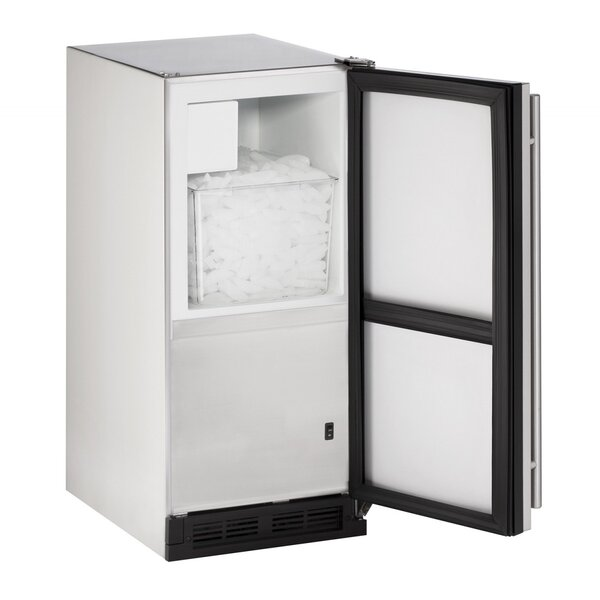 Reversible Outdoor 15 25 lb. Daily Production Built-in Ice Maker by U-Line