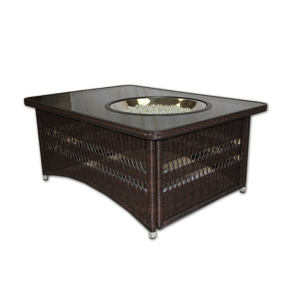 Laforce Polyresin and Aluminum Propane/Natural Gas Fire Pit Table by Bayou Breeze Bayou Breeze