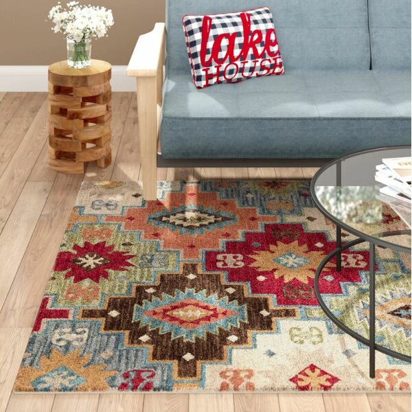 Azure Hand-Tufted Area Rug by Loon Peak