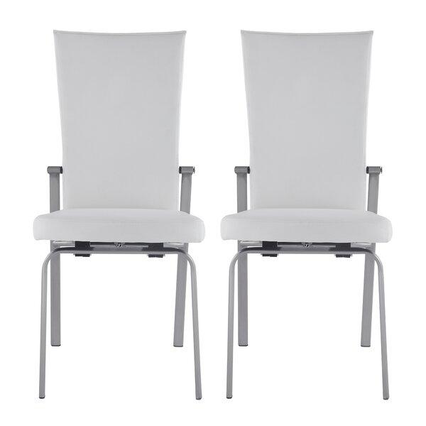 Molly Upholstered Dining Chair (Set of 2) by Orren Ellis Orren Ellis