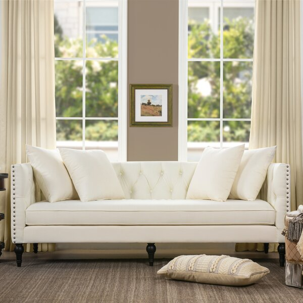 Beautiful Classy Jackson Chesterfield Sofa by Willa Arlo Interiors by Willa Arlo Interiors