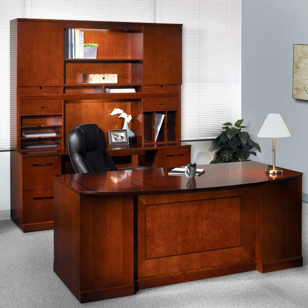 Sorrento 5-Piece Series Standard Desk Office Suite by Mayline Group