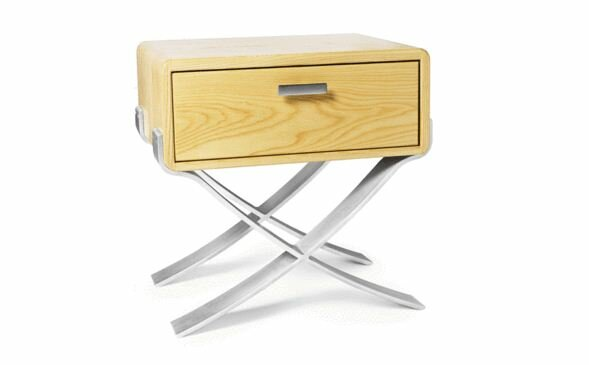 B-Line 1 Drawer Nightstand by Miles & May