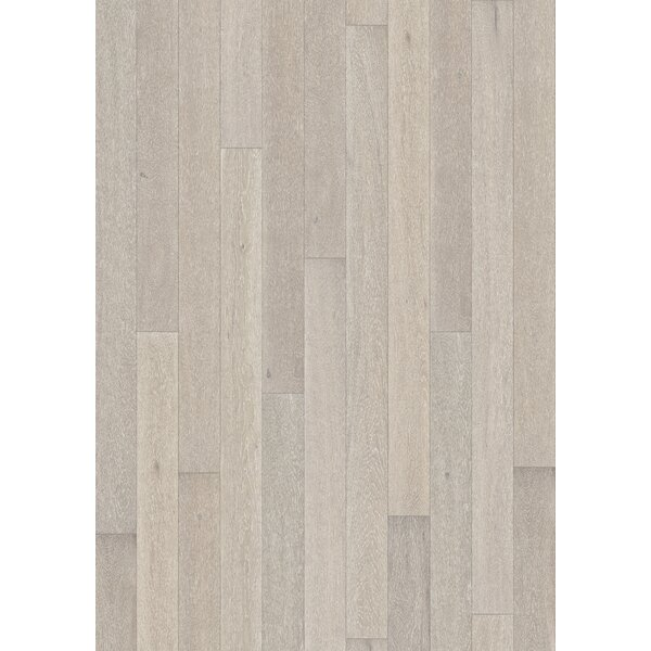 Canvas 5 Engineered Oak Hardwood Flooring in Strobe by Kahrs