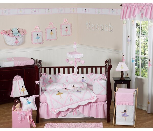 Ballerina 9 Piece Crib Bedding Set by Sweet Jojo Designs