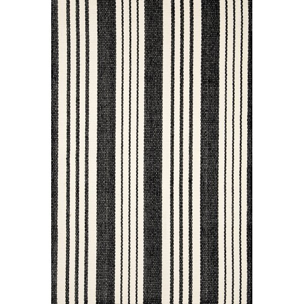 Birmingham Black/Ivory Indoor/Outdoor Area Rug by Dash and Albert Rugs