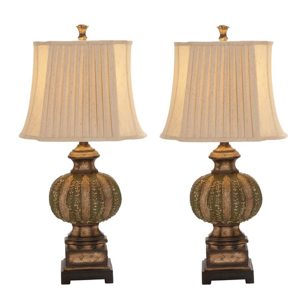 Urban Chateau Bordeaux 34 Table Lamp (Set of 2) by EC World Imports