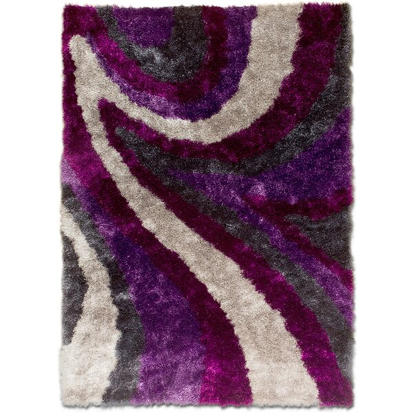 Hand-Tufted Purple Area Rug By Allstar Rugs.