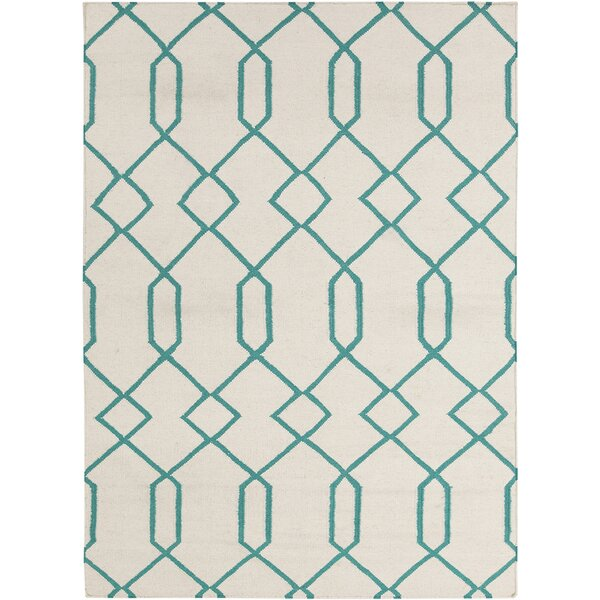 Antoinette Wool Geometric Rug by Corrigan Studio