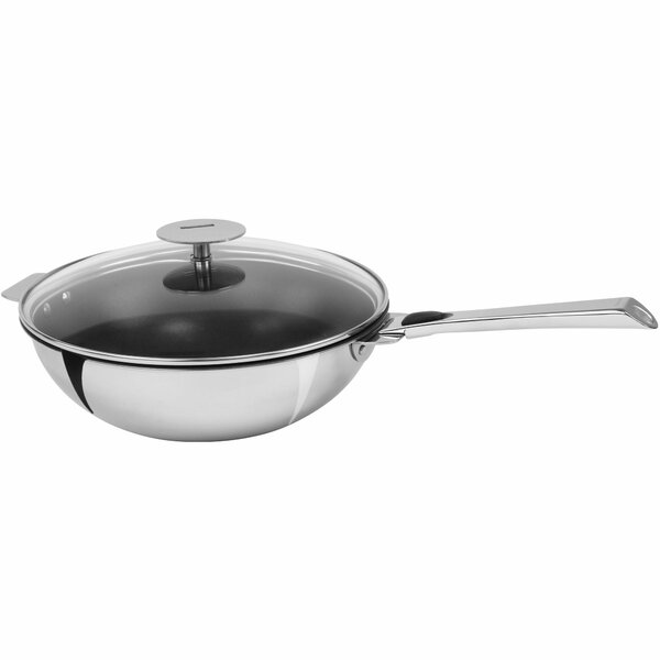 Casteline Stainless Steel Nonstick Wok by Cristel