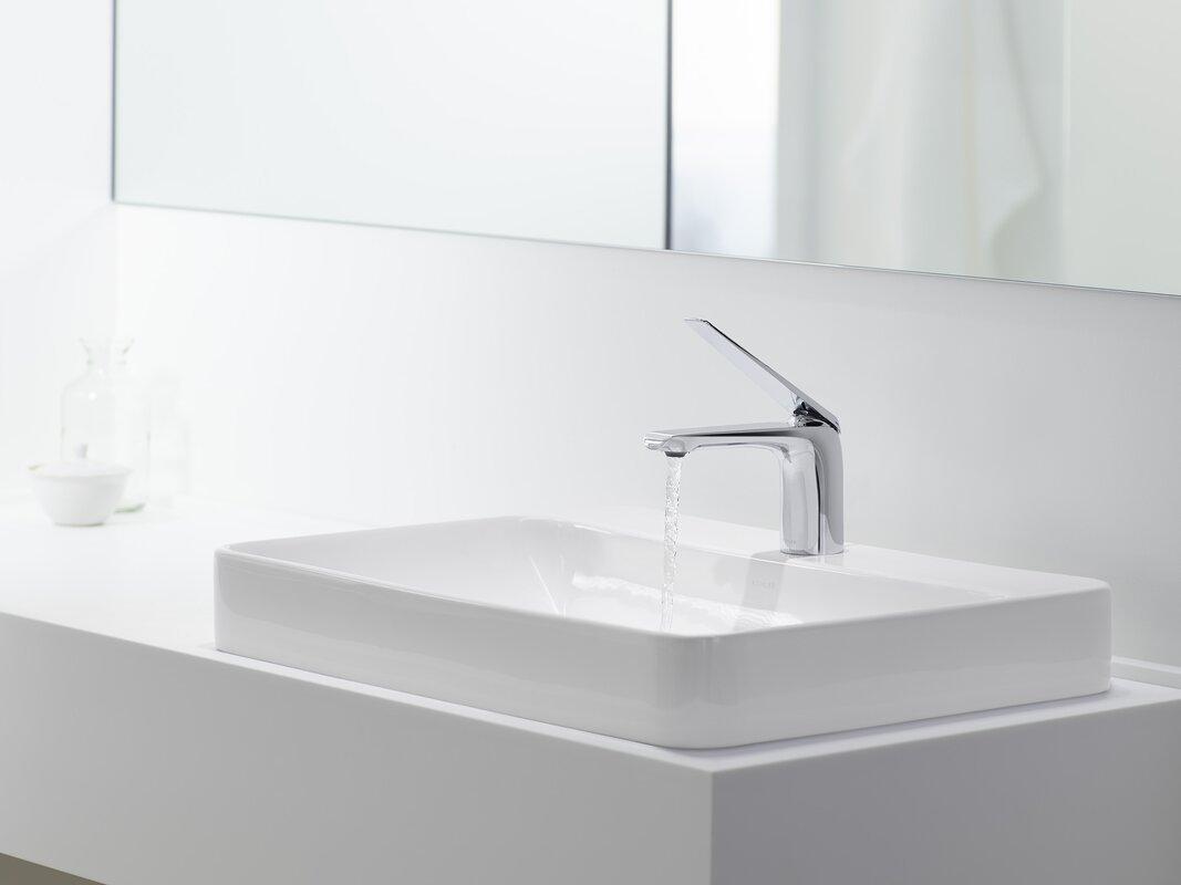 Bathroom Sinks Rectangular kohler vox rectangular vessel bathroom sink & reviews | wayfair