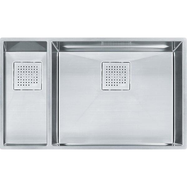 Peak 31 L x 18 W Undermount Kitchen Sink