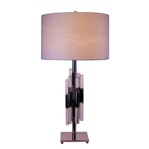 Blank Linen Shade 31 Table Lamp by Brayden Studio