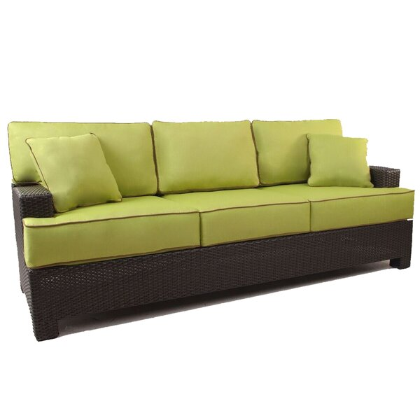 Doretha Patio Sofa with Cushions by Brayden Studio