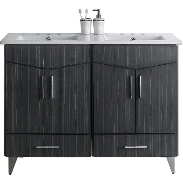 Dunand 48 Double Bathroom Vanity Set by Royal Purple Bath Kitchen