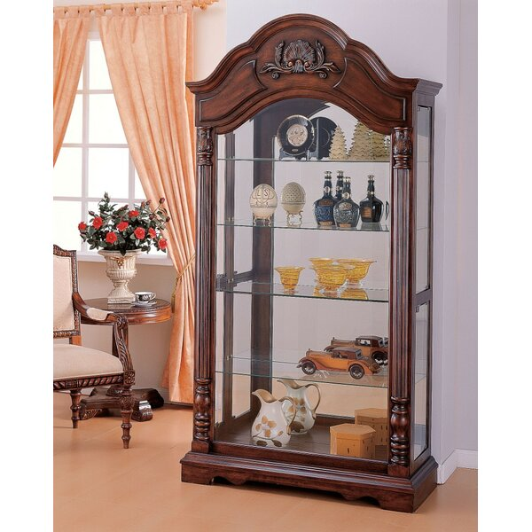 Okeefe Curio Cabinet by Astoria Grand