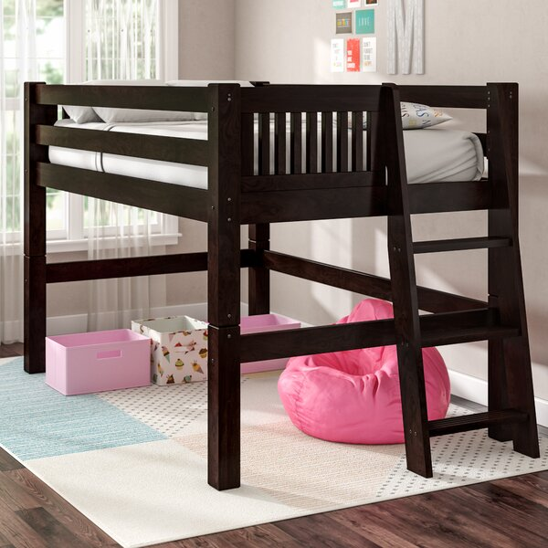 Isabelle Full Low Loft Bed by Viv + Rae
