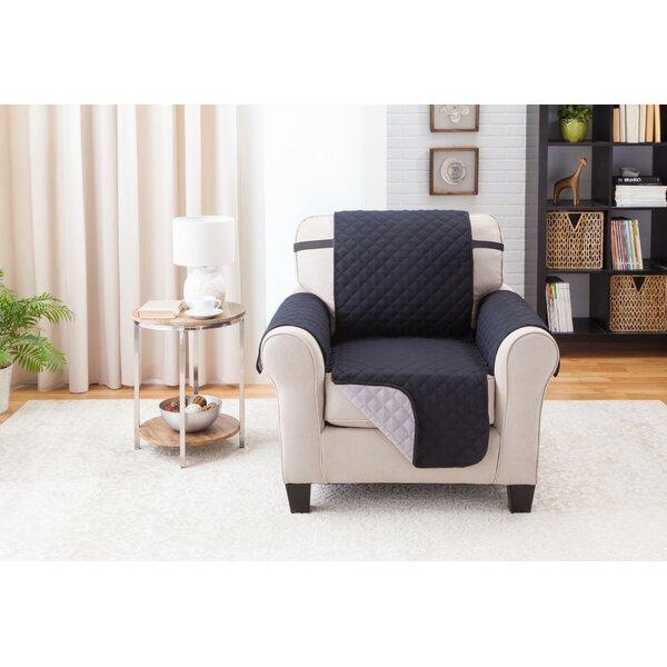 Compare Price Box Cushion Armchair Slipcover