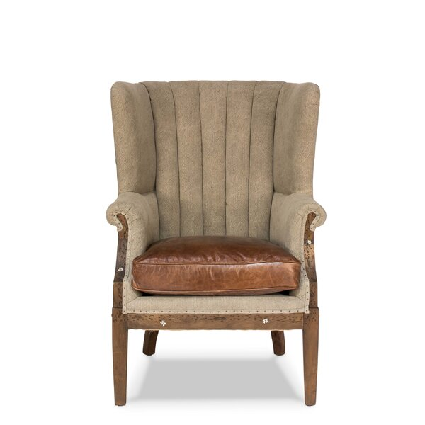Moorefield Wingback Chair by Astoria Grand
