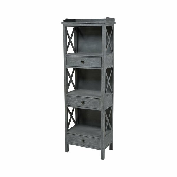 Mckayla 3-drawer Shelving Unit Etagere Bookcase by Gracie Oaks Gracie Oaks