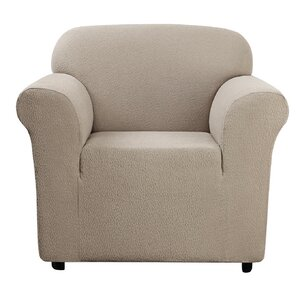 Side Box Cushion Armchair Slipcover