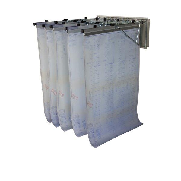 Pivot Wall Hanging File Cart by Buddy Products