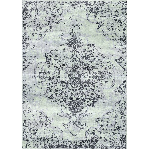 Aliza Handloom Blue Area Rug by Bungalow Rose
