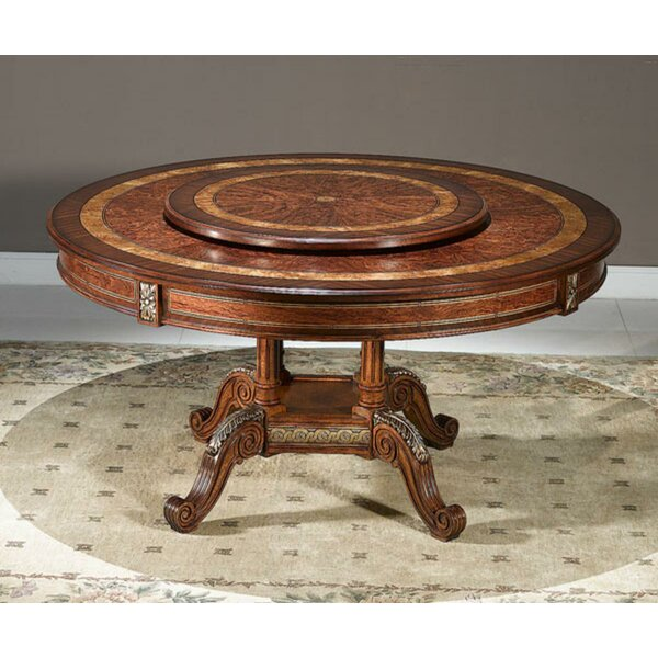 Louis Solid Wood Dining Table by Astoria Grand Astoria Grand