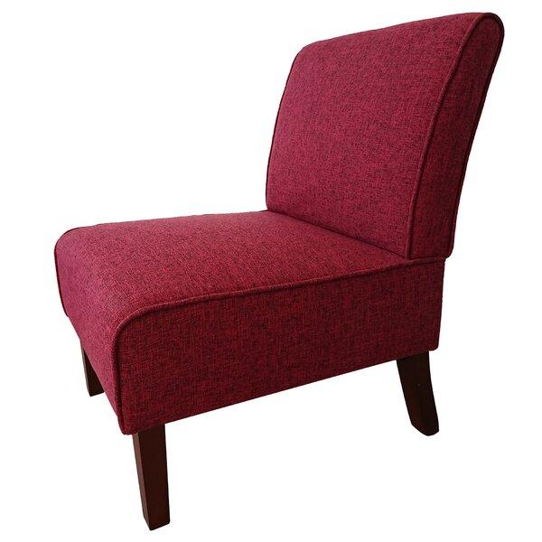 Aveline Home Elegant Accent Slipper Chair by Winston Porter