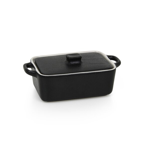 Kiln® Ovenware 10 Oz. Rectangle Ovenware Dish with Lid by Front Of The House