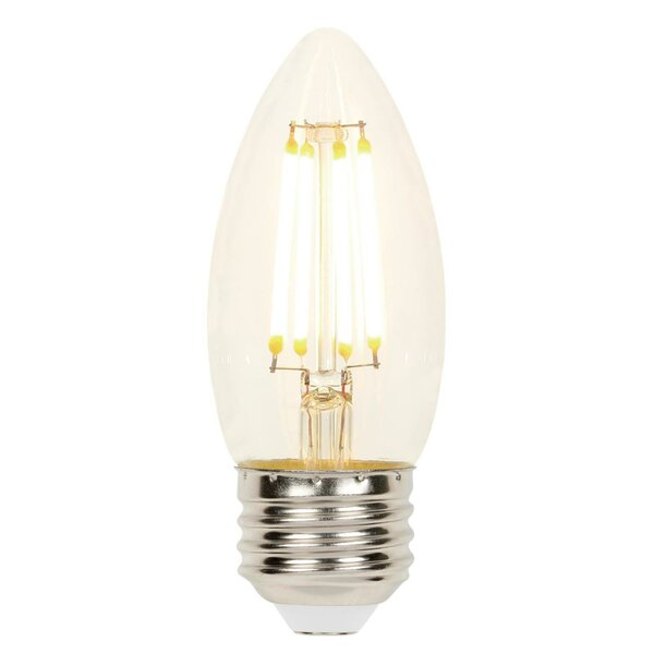 4.5W E26 Dimmable LED Candle Light Bulb (Set of 2) by Westinghouse Lighting