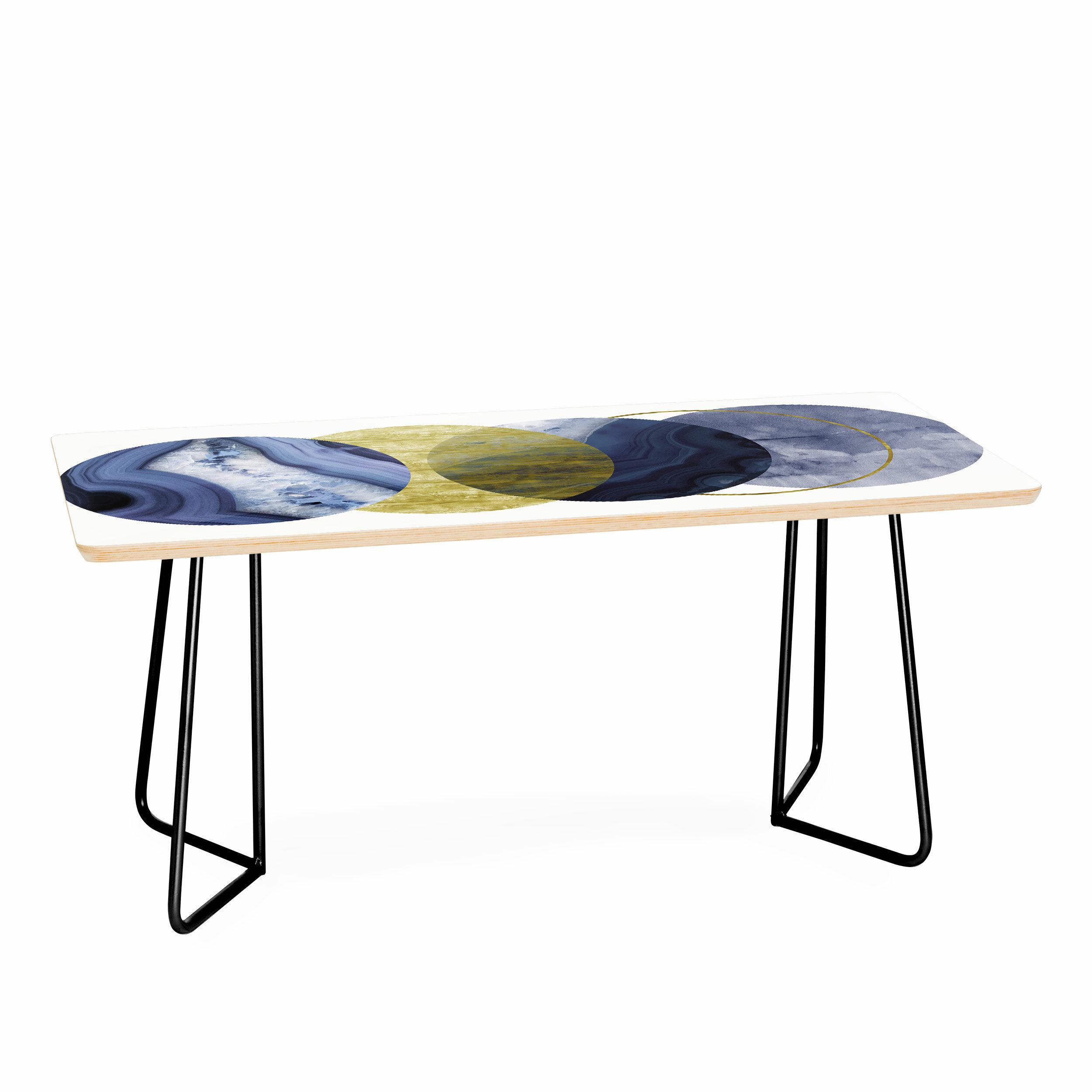 East Urban Home Moonlight Emanuela Carratoni Coffee Table Wayfair