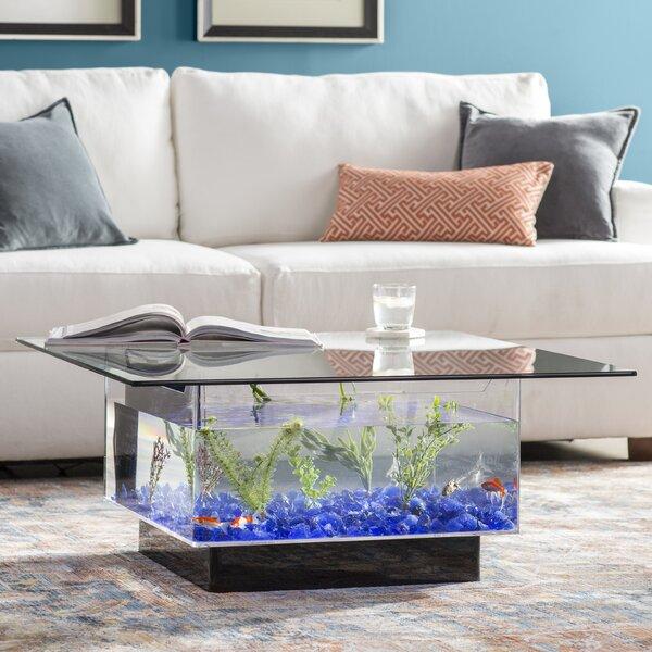 Claire 25 Gallon Coffee Table Aquarium Tank by Archie & Oscar Archie & Oscar