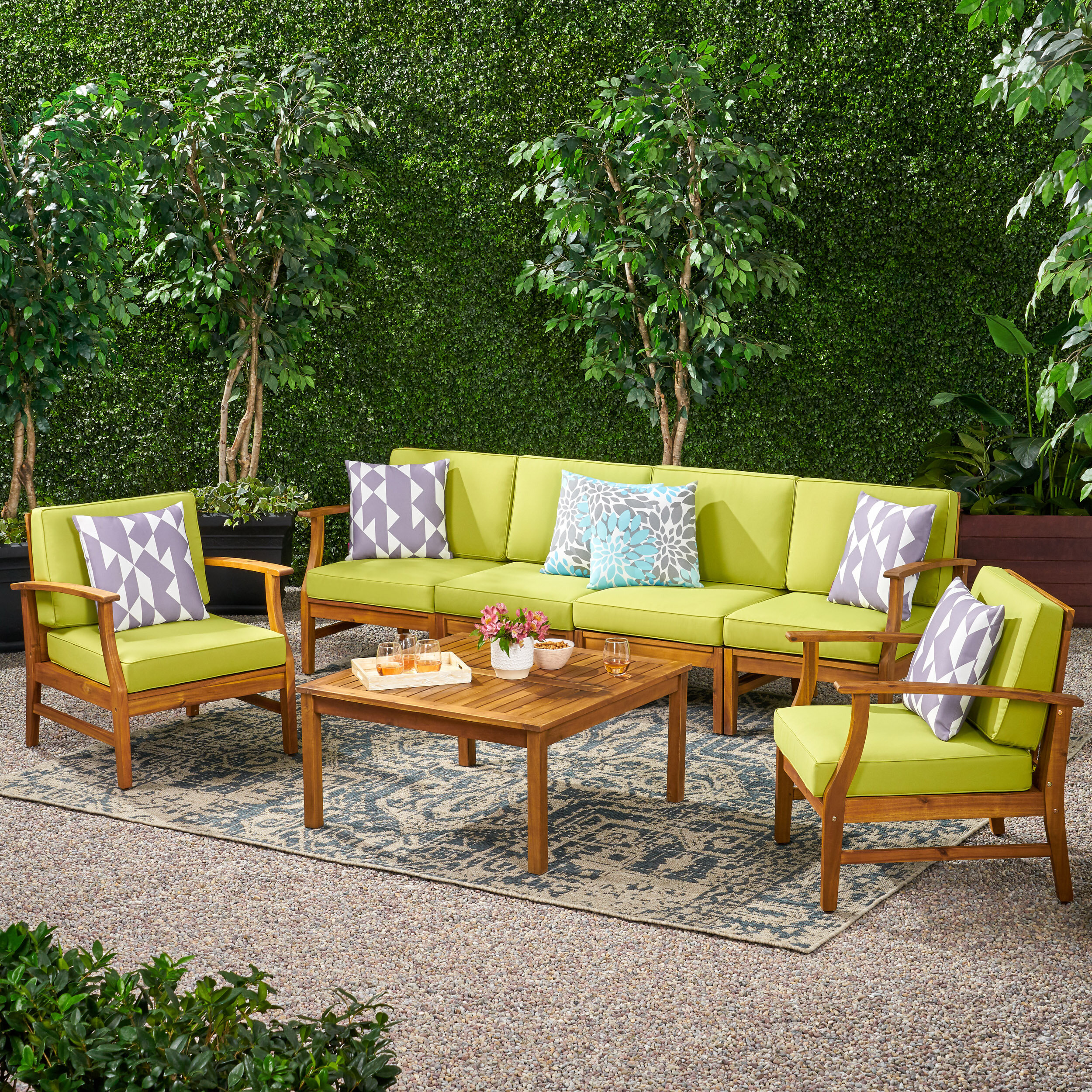 5 6 Person Patio Conversation Sets Up to 30% Off Through 8