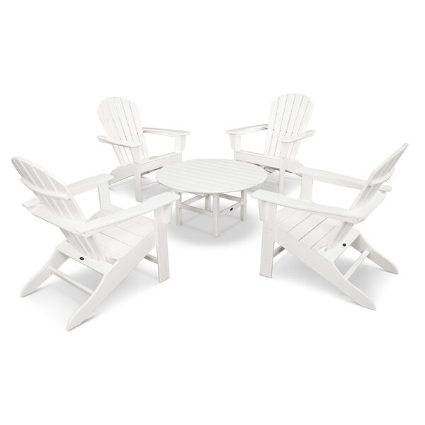 South Beach 5 Piece Multiple Chairs Seating Group by POLYWOOD POLYWOOD®