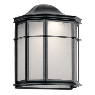 Great Price Heiss LED Outdoor Flush Mount By Bloomsbury Market