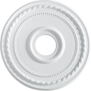 Comparison Meira 17.5 Ceiling Medallion in Studio White ByRed Barrel Studio