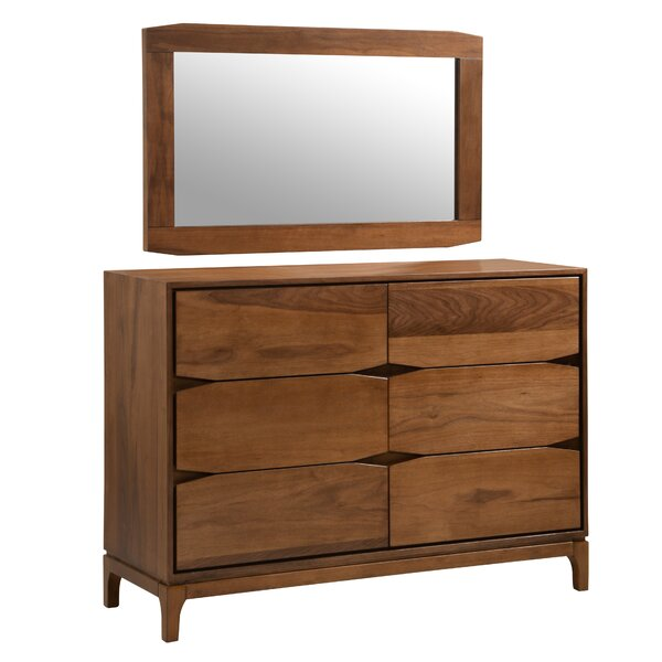Colombo 6 Drawer Double Dresser by Corrigan Studio