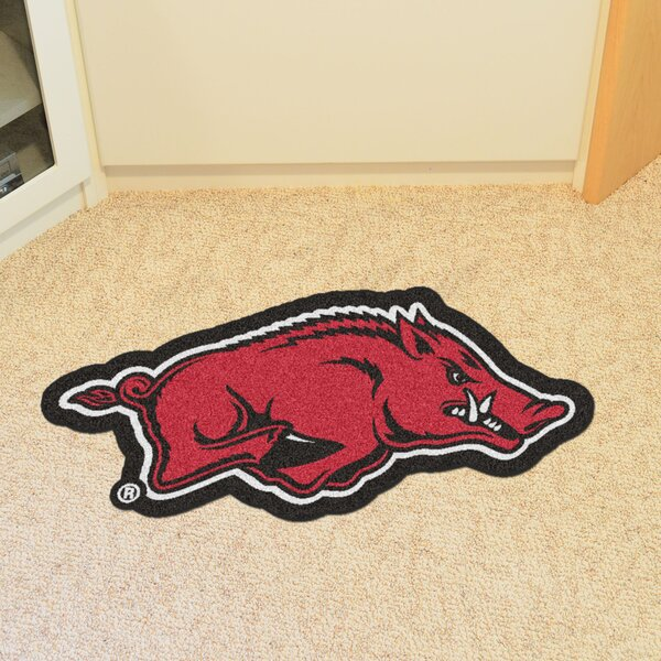 NCAA University of Arkansas Mascot Mat by FANMATS