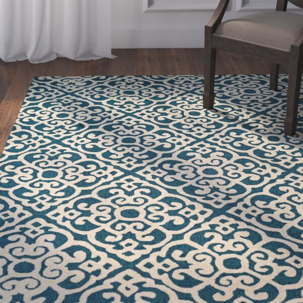 Union Hand-Knotted Indoor/Outdoor Area Rug by Darby Home Co