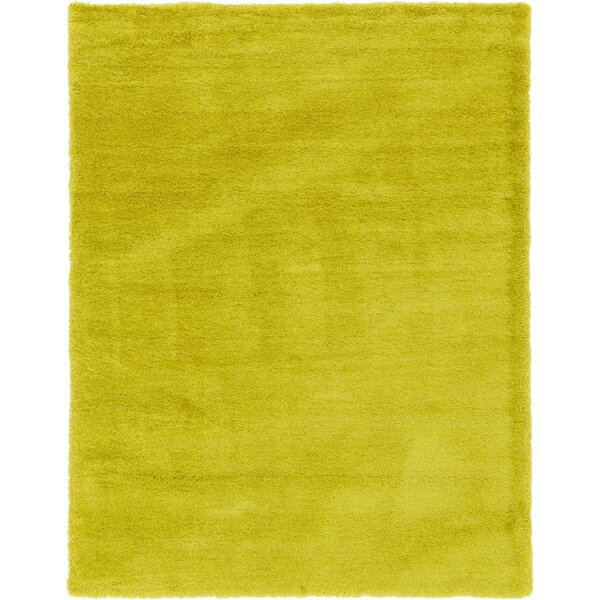 Evelyn Yellow Area Rug by Viv + Rae