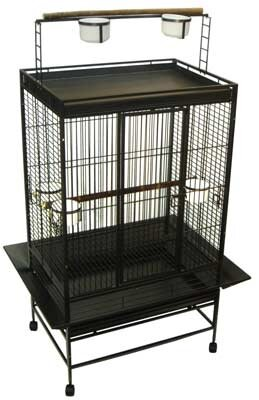Olivia Play Top Parrot Bird Cage by Tucker Murphy Pet