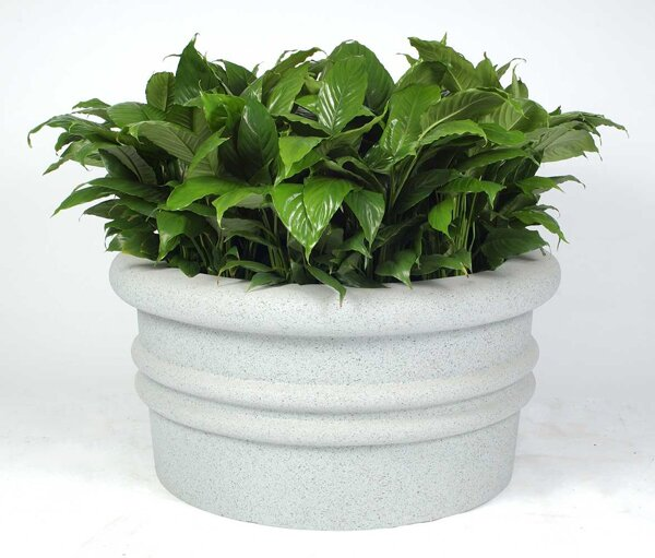 Sarasota Plastic Pot Planter by Allied Molded Products